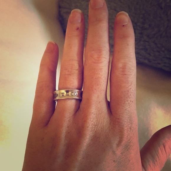 Tiffany Co Jewelry Tiffany And Co Signature Tco Pure Silver Ring Poshmark